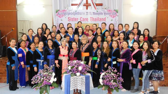 Thailand Sister Care Group Photo